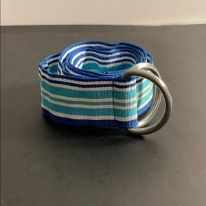 Blue and Green L.L. Bean Belt